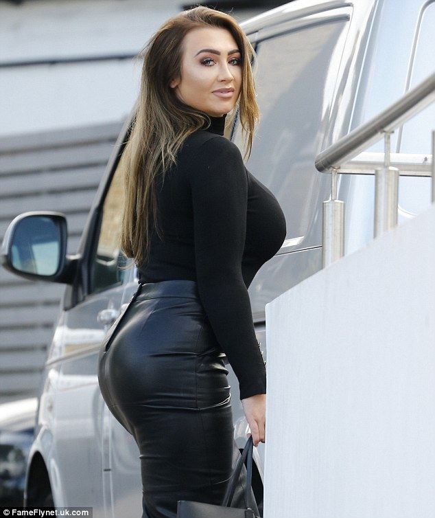 Have you missed me?The voluptuous TV personality, 30, was preparing to shoot her first scenes after agreeing to return to the show that helped turn her into a household name in August