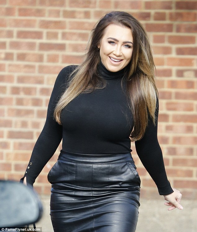 She's pleased:The reality star - who was one of the original cast members in the ITVBe series - originally revealed she is making a triumphant comeback to the show which made her famous during an appearance on Loose Women