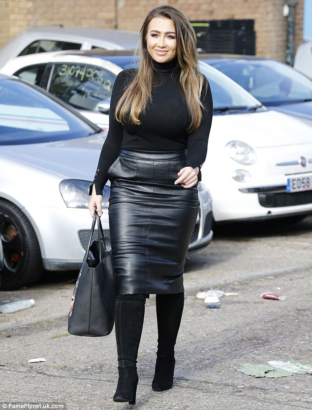 Four long years:Lauren quit TOWIE in 2012 after appearing in 63 episodes,with one of the central storylines being her relationship with her former fiancé Mark Wright