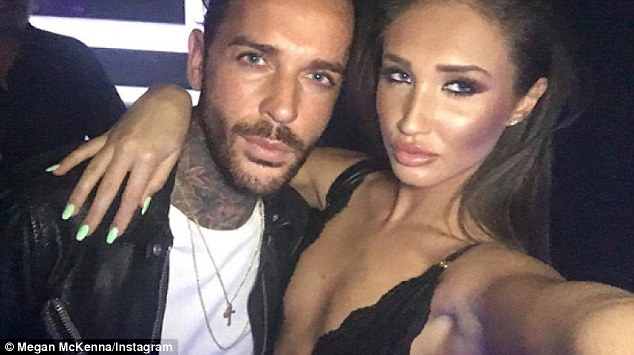 Using her? Pete has been accused of using girlfriend Megan for fame