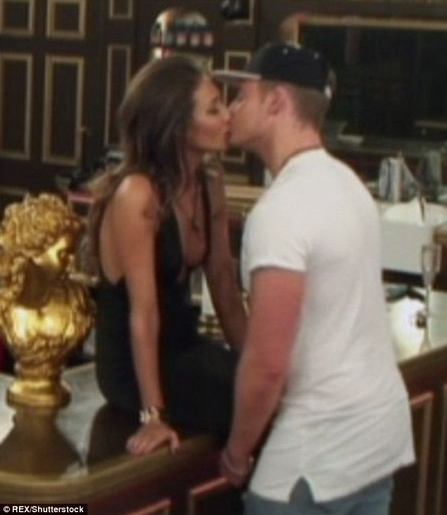 Issuing a warning: Megan met Pete not long after her stint in the Celebrity Big Brother house in January, where she shared a fling with Geordie Shore's Scotty T
