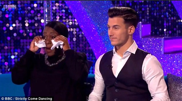 Partners: Tameka, who danced with Gorka Marquez during her stint on the show, was the second contestant kicked off