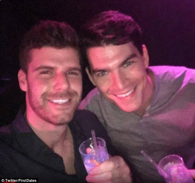 Michael (left) and David have enjoyed seven dates together since appearing on the Channel 4 show