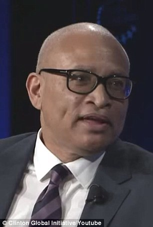 Hillary Clinton's traveling press secretary Nick Merrill wanted her to appear with Comedy Central's Larry Wilmore (pictured) and explain why she used a private email server