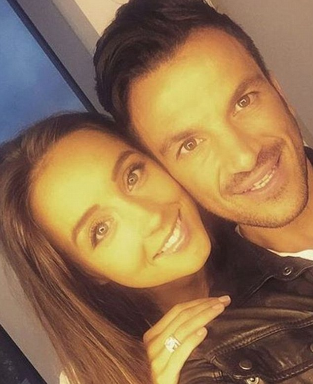 Excited:The new arrival with Emily marks Peter's fourth child - having already fathered two kids Junior, 11, and Princess, nine with ex-wife Katie Price