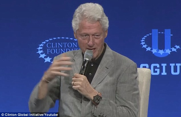 Bill Clinton had his own controversies to address at the March 2015 CGI event, as he explained to comedian Larry Wilmore why the Clinton Foundation took foreign donations