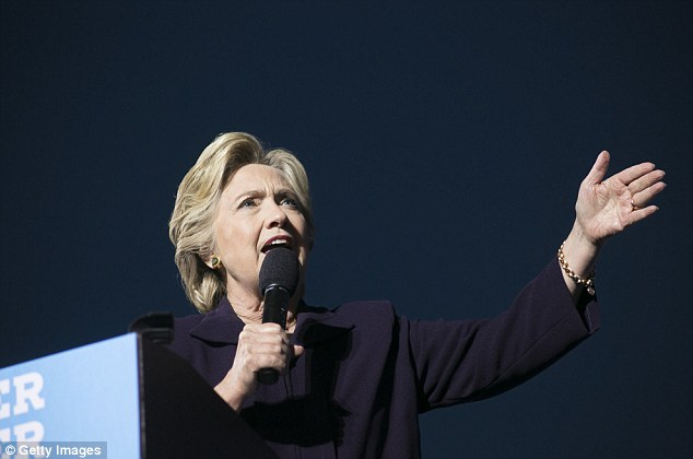 Hillary Clinton urged her supporters this morning not to become over-confident