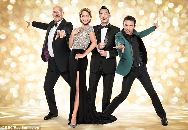 Stiff competition: Strictly Come Dancing is up against Britain's Got Talent and The X Factor in the talent show category - and Len Goodman (left) is up for best judge