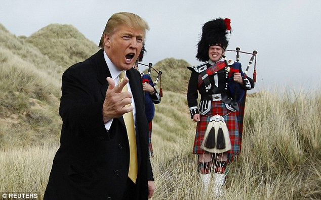 Trump bought the Menie estate, which lies on the east coast of Scotland in an area of great natural beauty overlooking the North Sea, for £7million in 2006
