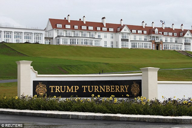 His accounts show that Turnberry had a turnover of £11.4million but made a loss of £8.4million for 2015