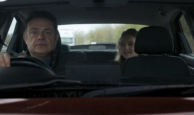 Last week's episode of the show saw Pete's daughter Rosie being told that Pete wasn't her real father, a moment that came back to haunt him again in last night's show, when a vision of Rosie joined him in the car and taunted him