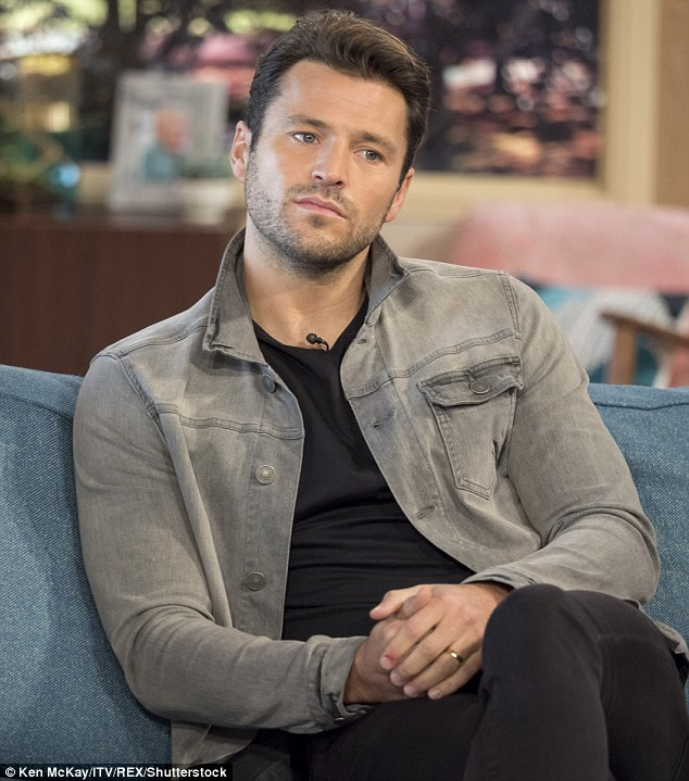 Staying strong: Former TOWIE star Mark Wright has revealed his secret battle with OCD during an interview with This Morning on Monday