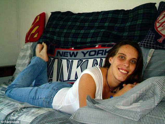 Michelle Martens, seen above in a Facebook photo, initially claimed that she and Gonzales, 31, had been attacked by Kelley, a convicted rapist, in the night, and had no idea what had happened to Victoria