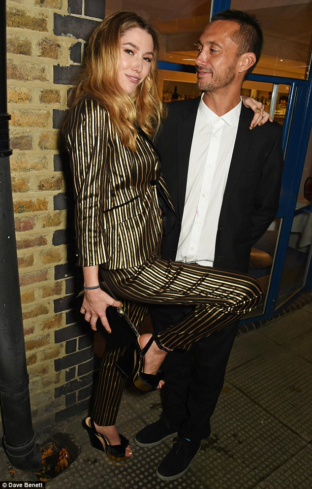 Congratulations! Dan Macmillan, 42, and his girlfriend Daisy Boyd celebrated their engagement at the River Cafe in London on Saturday night