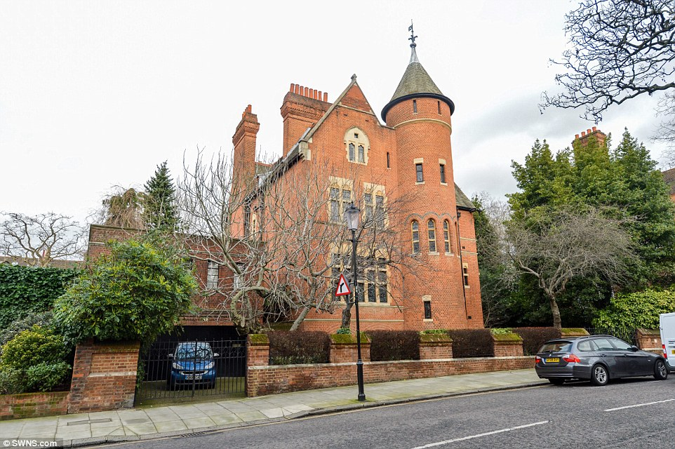 Mr Page's home, pictured, is a Grade-I listed property built in 1781 and the rock star had concerns it would be damaged by the work Williams was carrying out