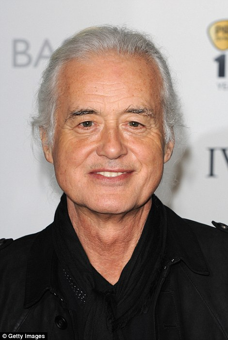 Jimmy Page even wrote a strongly worded letter to the council about Williams' plans