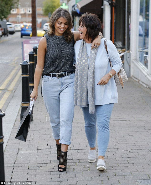 Mum's the word! The mother-and-daughter duo were clearly having a lovely day out together