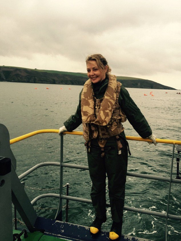 All systems go!The 55-year-old former Countdown star is preparing to fly solo around the world for a new Channel 5 series as she attempts to become the ninth woman in history to complete the feat and she has been in full training mode ahead of the trip