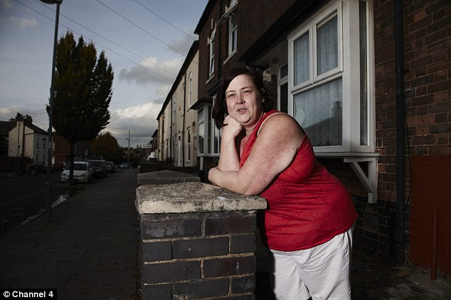 Dee shot to fame on Channel 4's Benefits Street in 2014 (pictured), which was followed by a string of media appearances including a stint on Celebrity Big Brother