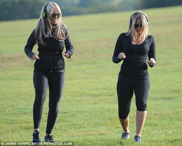 Self-confidence: Danielle explained that she was feeling insecure about filming TOWIE in Mallorca as she felt 'huge' standing alongside co-star Megan McKenna