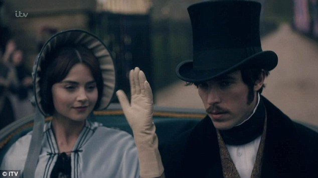 Not amused...but definitely pulling in the viewers. The final episode of the Victoria series aired on ITV last night and left fans applauding the 'classy' show on Twitter