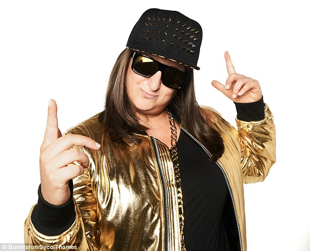 Competition: The two earlier admitted on the show when they heard Honey G(pictured) was back in the competition they knew they wouldn't be able to compete with her