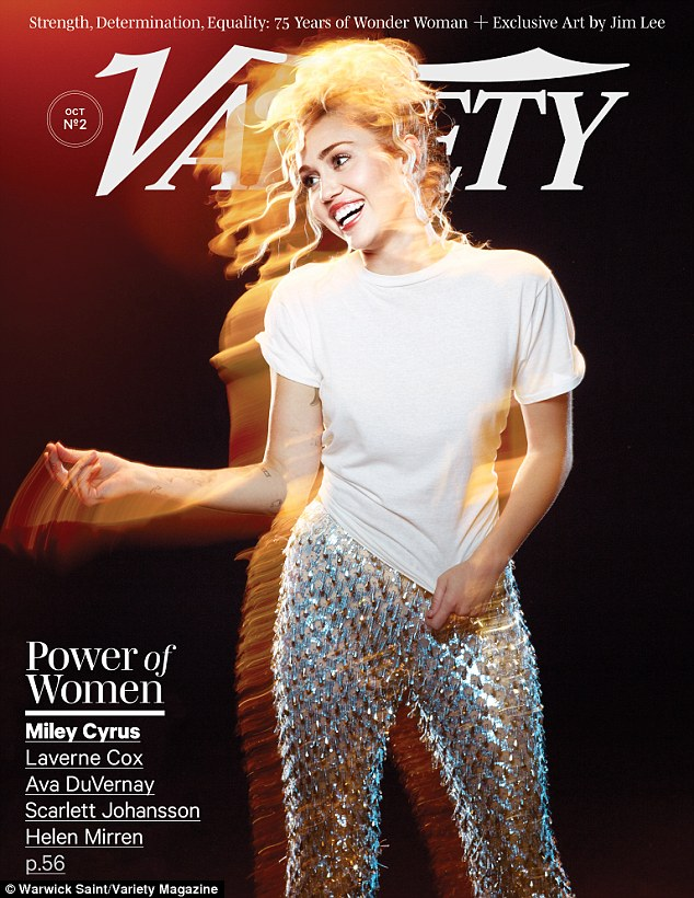 Cover girl: The star opened up to Variety as part of the Power Of Women issue