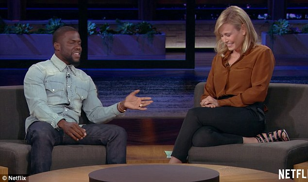 Manning up: Kevin Hart admitted he was to blame for the failure of his first marriage to Torrei Hart in a chat with Chelsea Handler on her Netflix show, Chelsea , which aired on Monday.