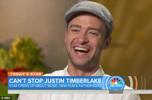 'I have no idea what I'm doing': The 35-year-old multi-talented star joked that he wasn't an expert on the topic of fatherhood while speaking on The Today Show on Monday