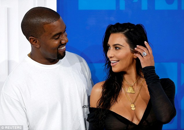 Criminal: MediaTakeOut used a headline to suggest Kim could be committing insurance fraud after reports that the reality star filed a claim for her stolen $4.5 million ring that husband Kanye got her