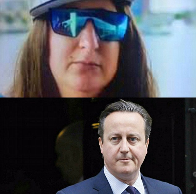 Many have drawn comparisons between her character and former prime minister David Cameron, prompting some hilarious memes