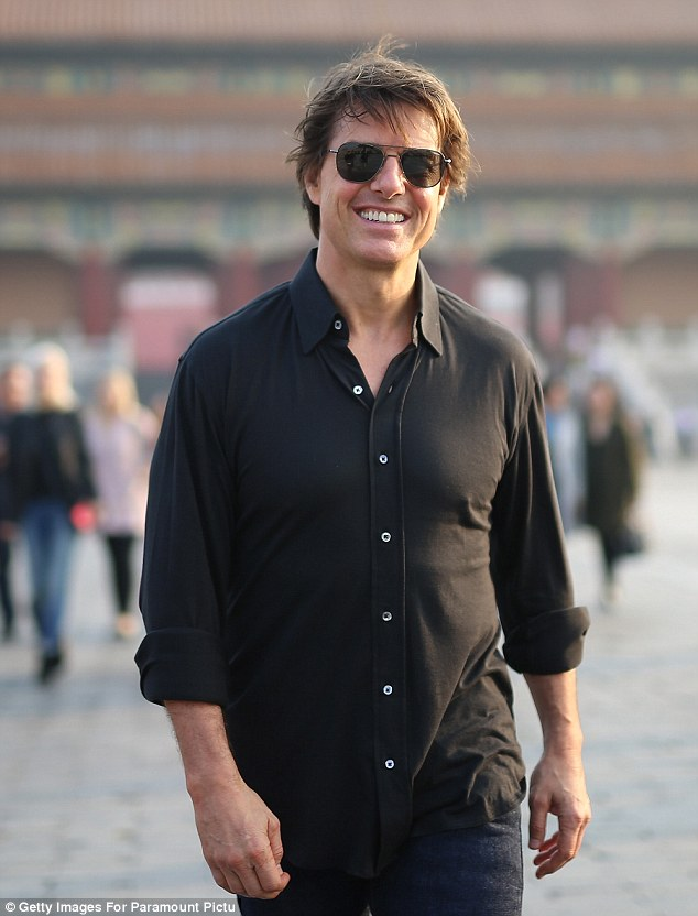 New movie: Tom Cruise visited China's Forbidden City on Tuesday as part of a promotional tour for his film Jack Reacher: Never Go Back which opens there and in the U.S. on October 21