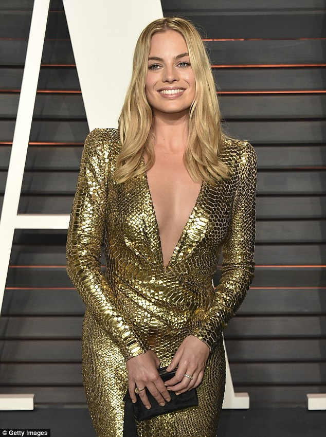 High praise: Meanwhile Wolf Of Wall Street Star Margot Robbie has revealed that she has 'never met anyone' like Cara Delevingne