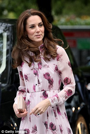 The dress should work, as it ticks off all of next season's trends – but in Kate's hands, it simply looks frumpy