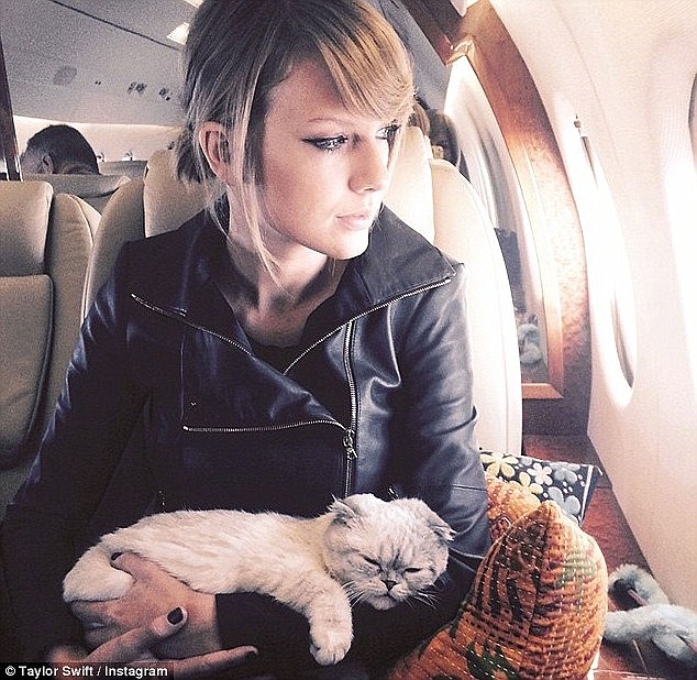 Taylor Swift admits she was once on her way to Japan when she realised she was without her make-up bag - so used a Sharpie pen to create her signature cat-eye flick instead