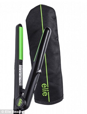 Elie Mini Hair Straightener with heat resistant  Bag, £12.95 from Elie Beauty