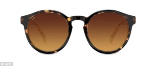 Tens Bailey sunglasses, £80 from Tens, the number one airport accessory when all else fails