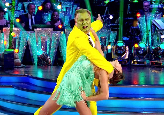 Winner, winner: Strictly Come Dancing's Ed Balls put on one of the best shows of the night, helping the BBC One programme to an audience of9.6 million