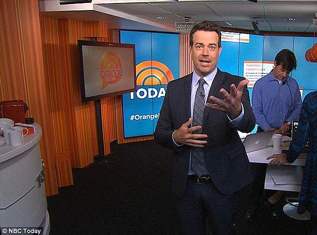Carson Daly is set to take over for Billy Bush in the 9am time slot after Bush's suspension in the wake of the Donald Trump p***ygate scandal