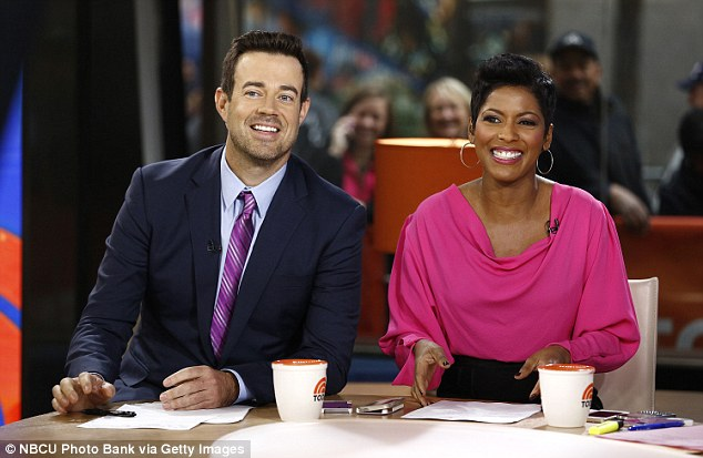 Daly will cohost with Tamron Hall - an insider told People magazine that staff would be 'fine if Bush never came back'