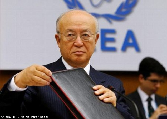 International Atomic Energy Agency (IAEA) Director General Yukiya Amano (pictured) has given a warning over possible cyber attacks on nuclear power stations in future