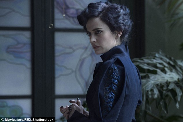 Eva Green starred as Miss Peregrine in Tim Burton's newest fantasy film, Miss Peregrine's Home for Peculiar Choldren
