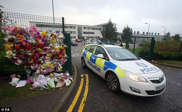 Review findings: The multi-agency probe into the stabbing at Cults Academy in Aberdeen (pictured) has made a series of recommendations, including calling on the Scottish Government to consider changing the law to give teachers more power to search pupils