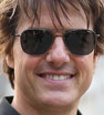 Hollywood hardman: Tom Cruise was beaming as he promoted his new film Jack Reacher: Never Go Back in Beijing.