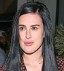 Leggy look: Rumer Willis was clad in a boho inspired frock the Catch LA in WeHo.