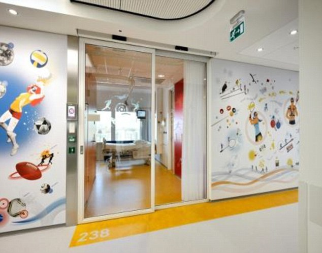 Ella-Jayne's Legacy: An artist's impression of the new children's trauma centre at the University Hospital Southampton
