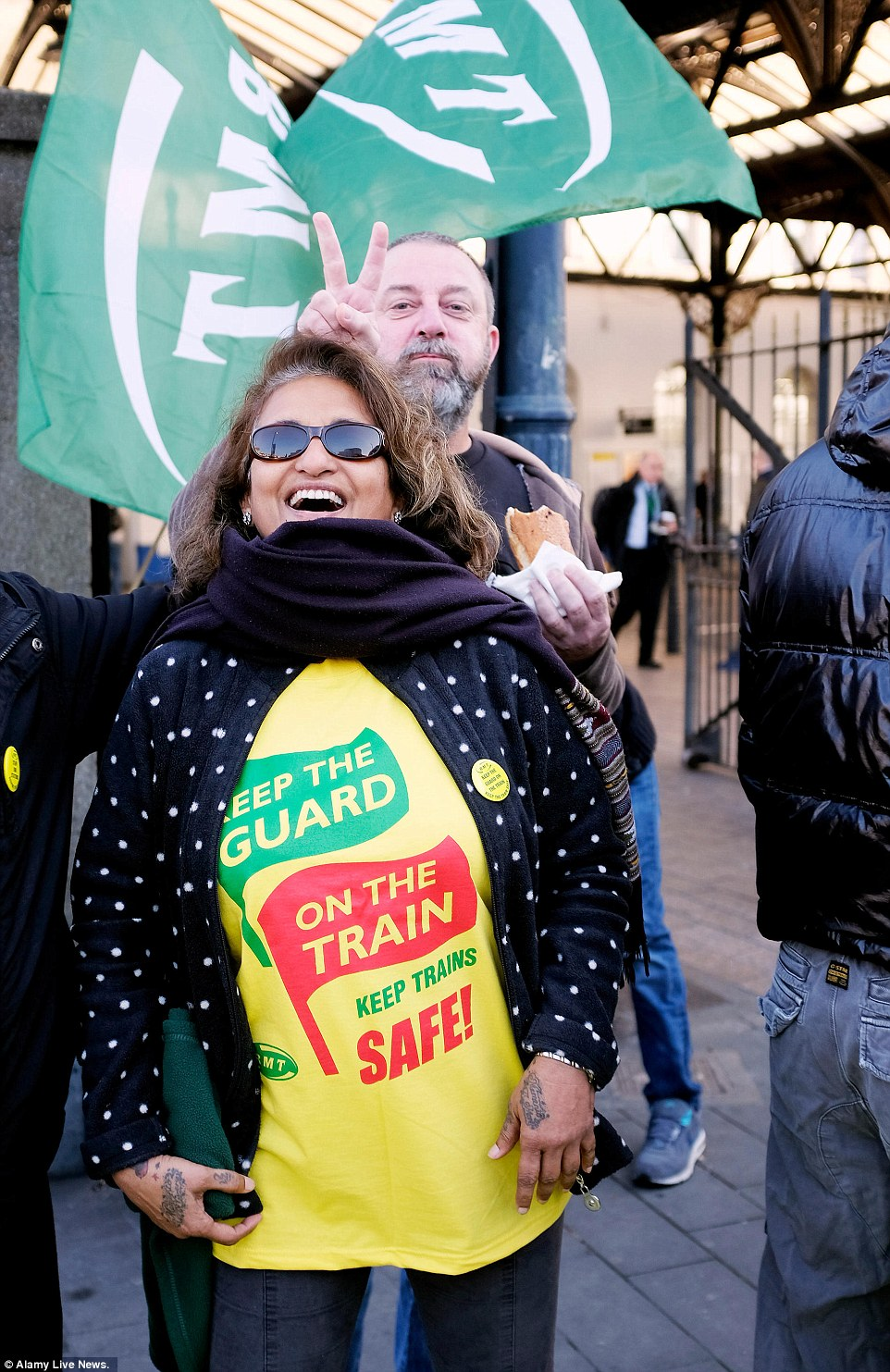 The RMT said earlier that Charles Horton, chief executive of Govia Thameslink Railway, which owns Southern, has been closely involved in discussions at the Rail Safety and Standards Board (RSSB) over the role of conductors