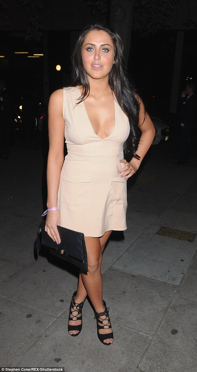Going under the knife: Marnie Simpson has revealed she's set to have an operation this week, getting the problem investigated by a consultant at a private hospital after weeks of 'unbearable pain'