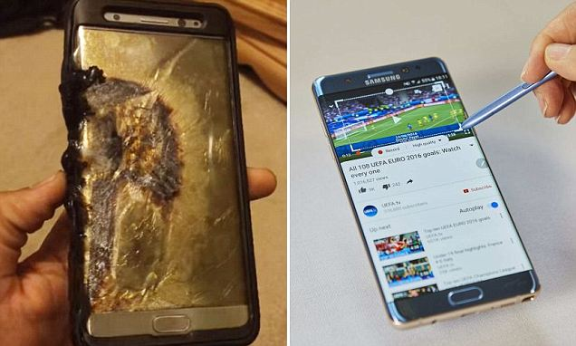 Samsung Galaxy Note 7 discontinued after faulty smartphone kept bursting into flames