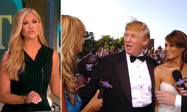 Nancy O'Dell blasts Trump after he is caught saying she has 'big phony t***'